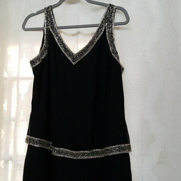 J Kara Dresses | New York Beaded Evening Gown Sz 14 | Poshmark